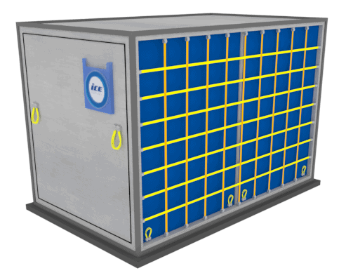 Air freight container LD-4