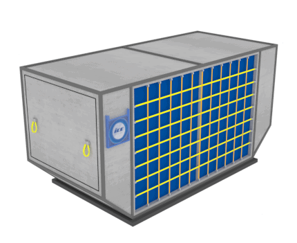 Air freight container LD-8