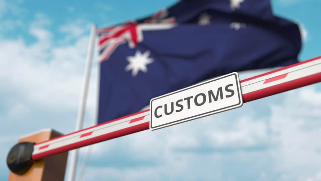 Australian customs