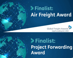 ICE are nominated for Global Freight Awards