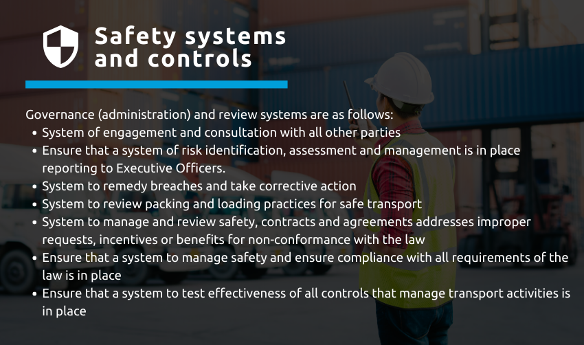 safety systems - Chain of responsibility