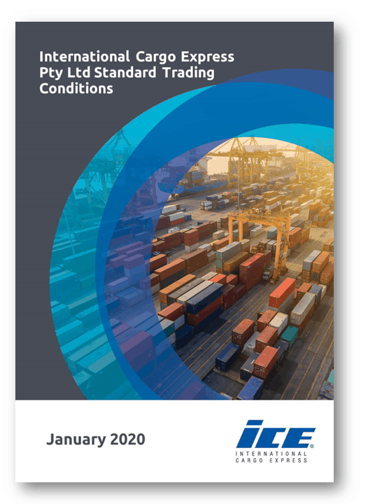 ICE Standard Trading Conditions Cover