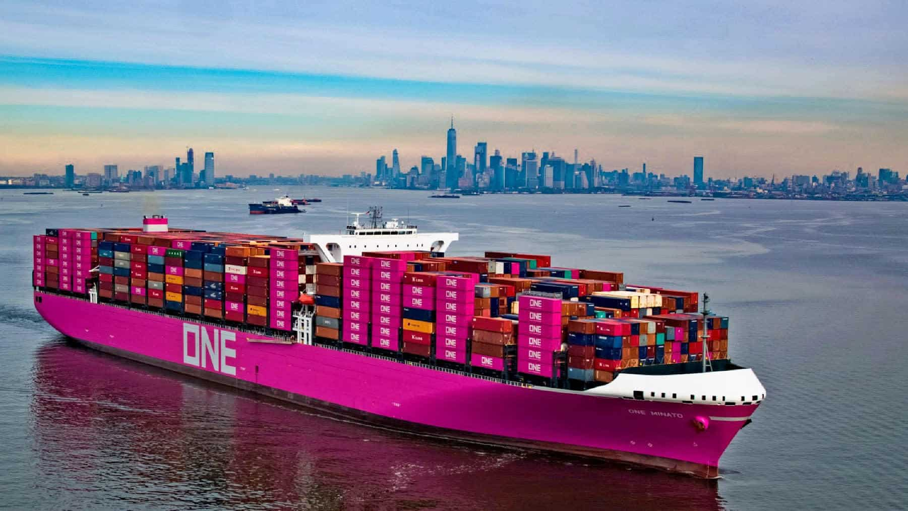 Ocean Network Express shipping line