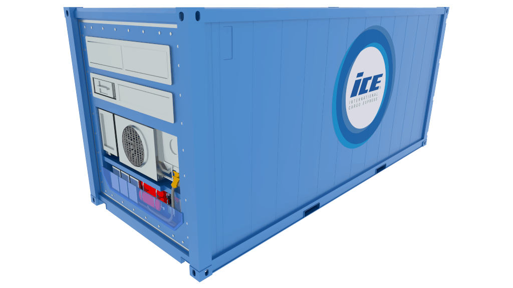 Refrigerated Container model