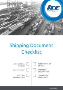 Shipping Document Checklist