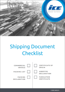 Shipping documentation checklist