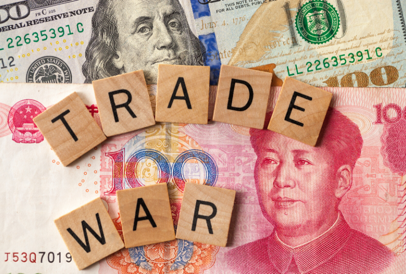 US China Trade War money