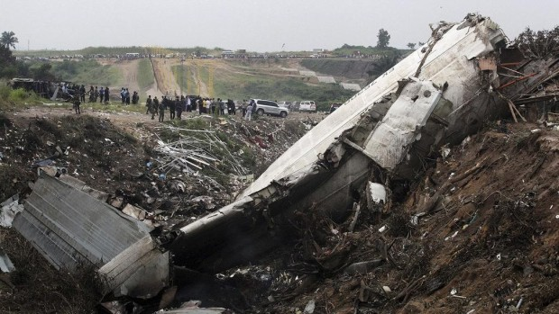 In the worst cases, poor weather can also contribute to deadly aircraft accidents. In 2012, an Aéro-Service Ilyushin Il-76 cargo aircraft crashed into a residential area in Congo-Brazzaville, killing 32 people. Authorities believed the crash may have been caused by a severe thunderstorm.