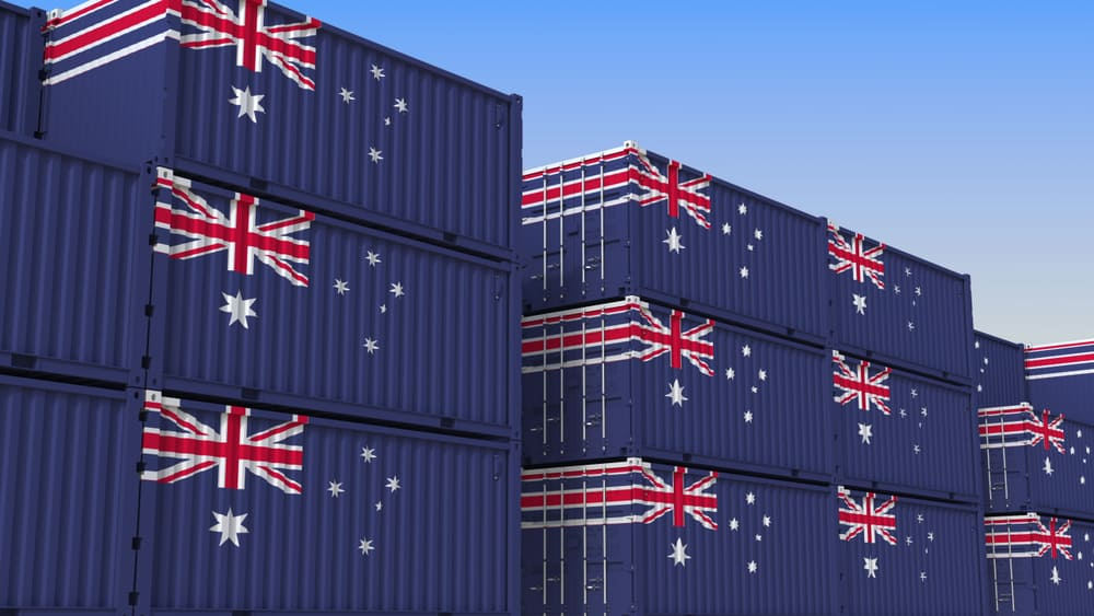 australia shipping containers
