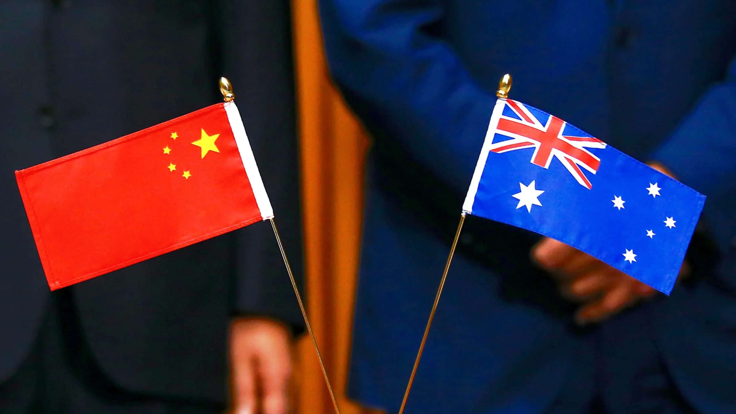 china and australia flags free trade agreement