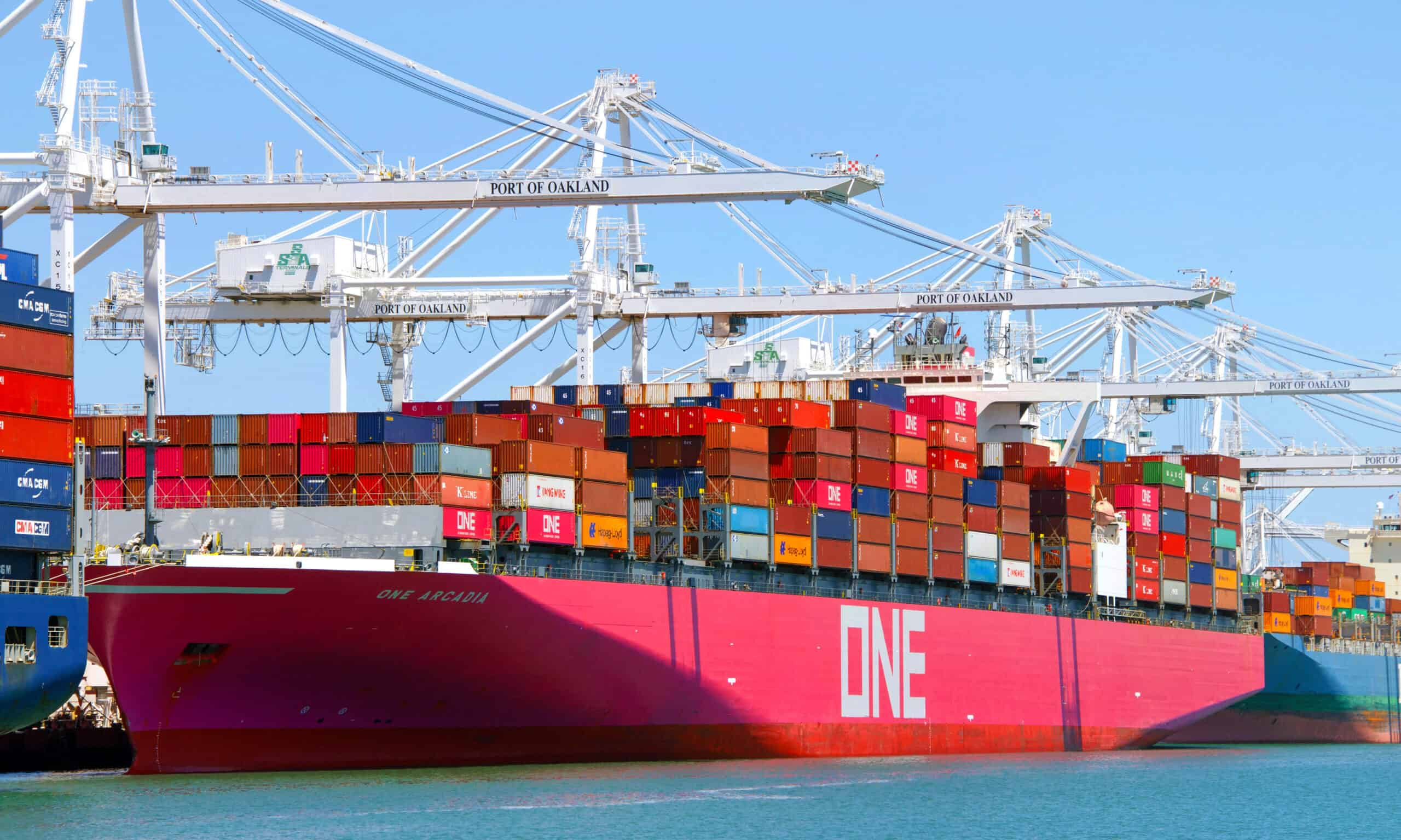 one shipping line